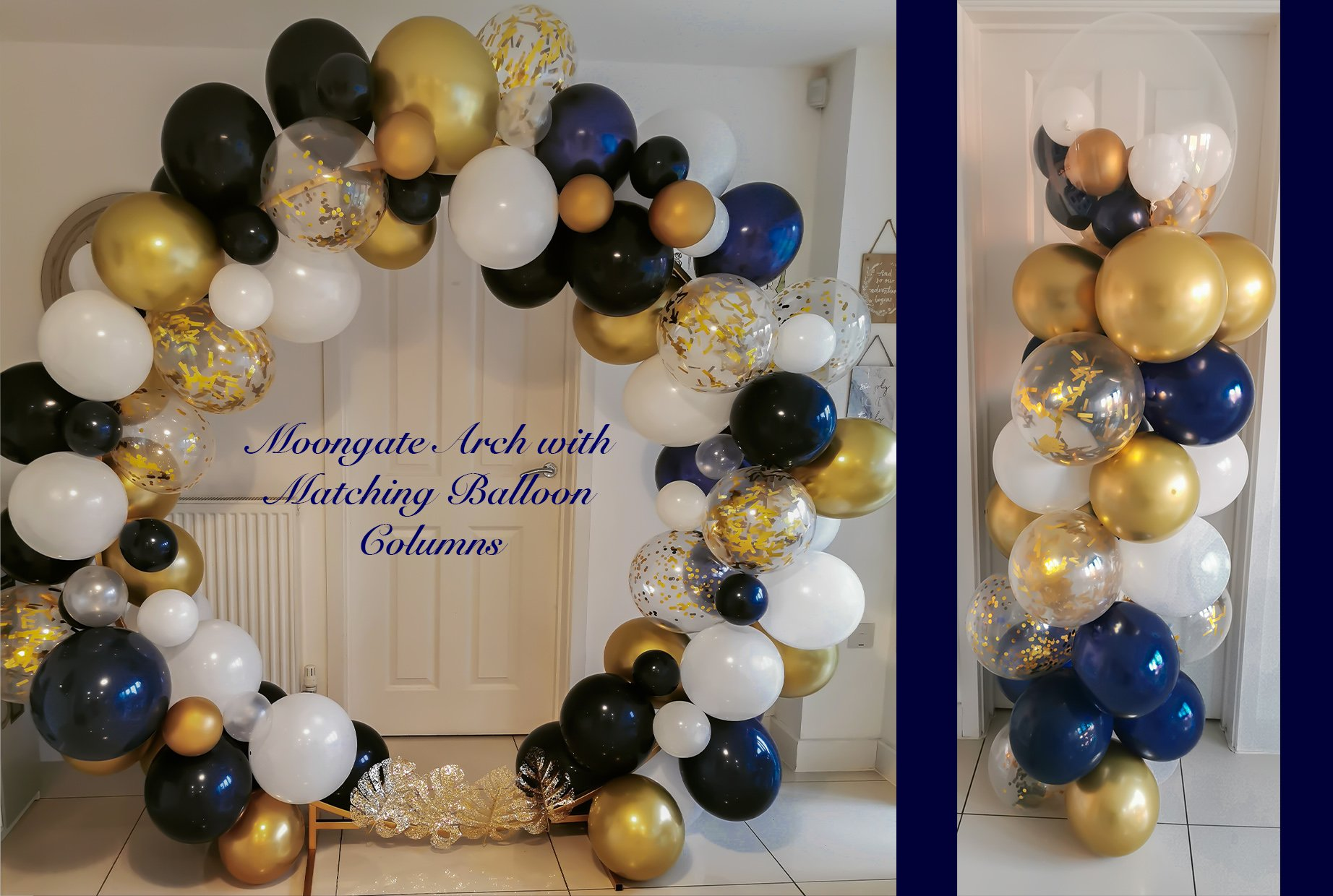 Balloon Moongate & Columns
